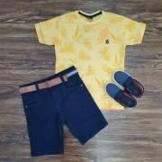 Bermuda com Camiseta Thicket Infantil