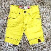 Bermuda Jeans Amarela