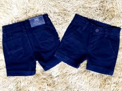 Bermuda Jeans Azul Marinho