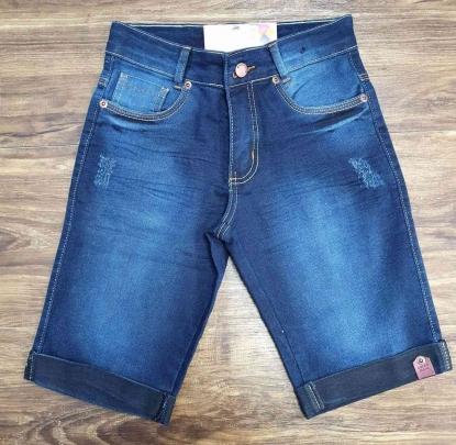 Bermuda Jeans Azul Megan Kids