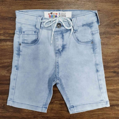 Bermuda Jeans Clara Básica Infantil