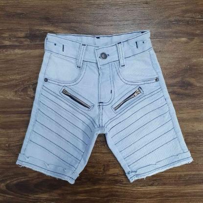 Bermuda Jeans Clara com Detalhes Infantil