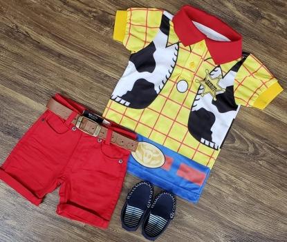 Roupa Vermelha Toy Story Infantil