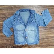 Blazer Jeans Claro Infantil