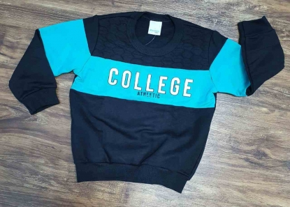 Blusa College Preta Infantil