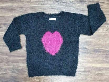Blusa Coração Infantil