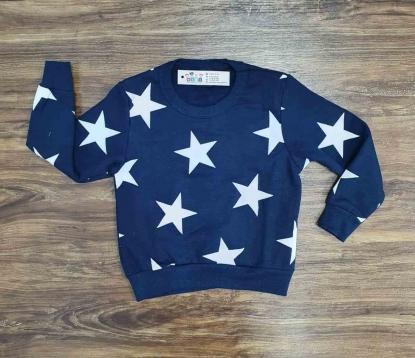 Blusa de Moletom Estrela Infantil