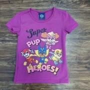 Camiseta Super Patrulha Canina Infantil