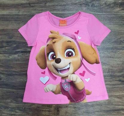 Camiseta Skye Patrulha Canina Infantil