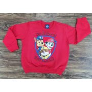Blusa Moletom Vermelha Patrulha Canina Infantil