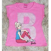 Blusinha Barbie Rosa