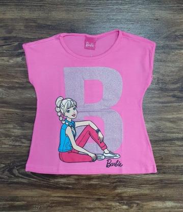 Blusinha Barbie Rosa Infantil