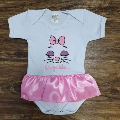 Body Gatinha Infantil