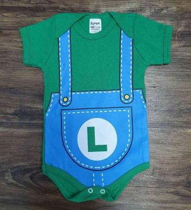 Body Luigi Infantil