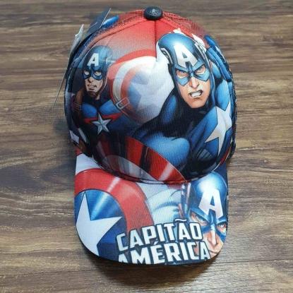 Boné Capitão América 2 Infantil