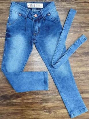Calça Básica Clochard Jeans Infantil