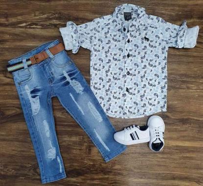 Calça com Camisa Half Infantil