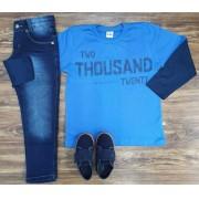 Calça com Camiseta Two Thousand Twenty Infantil