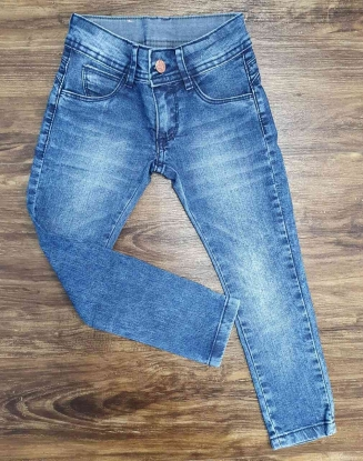 Calça Jeans Básica Clara Infantil