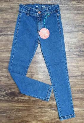 Calça Jeans Básica Lisa Infantil