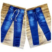 Calça jeans com Cordão