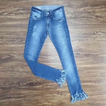 Calça Jeans com Detalhes Infantil