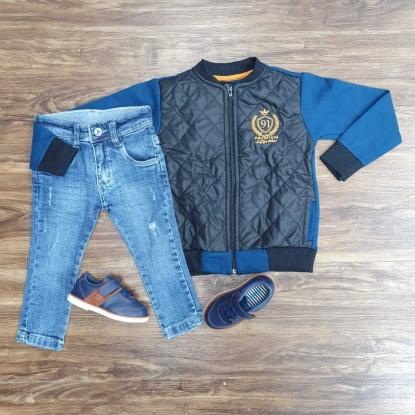 Calça Jeans com Jaqueta G-91