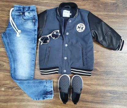 Calça Jeans com Jaqueta MK