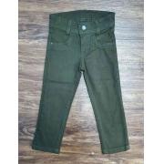 Calça Jeans Verde Infantil
