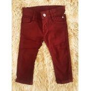 Calça Jeans Vinho