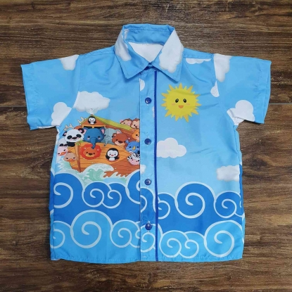 Camisa Arca de Noé Infantil