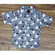Camisa Astronautas Cinza