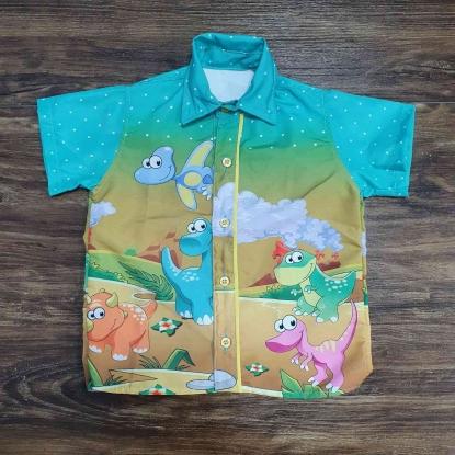 Camisa Baby Dino Infantil