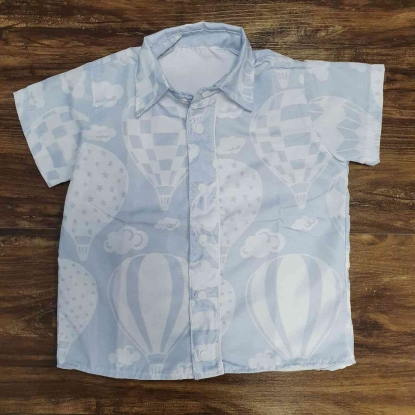 Camisa Balões Infantil