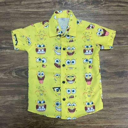 Camisa Bob Esponja Infantil