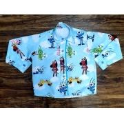 Camisa Bob Zoom Longa Infantil