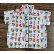Camisa Cocomelon Colorida