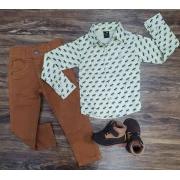 Camisa com Calça Infantil