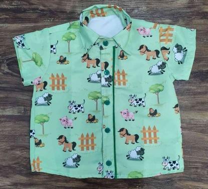 Camisa Fazendinha Infantil