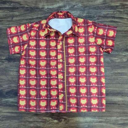Camisa Homem de Ferro Infantil