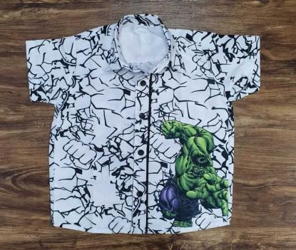 Camisa Hulk Infantil