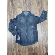 Camisa Jeans Destroyer Infantil