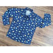 Camisa Manga Longa Dinossauro Infantil