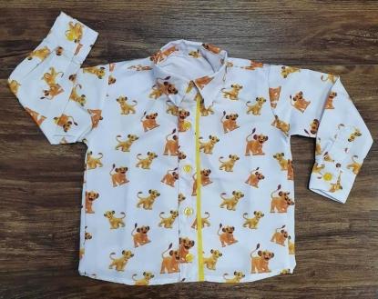 Camisa Manga Longa Simba - Rei Leão