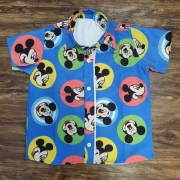 Camisa Mickey Colorida Infantil