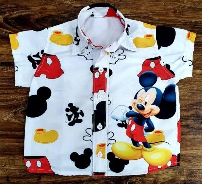 Camisa Mickey Clássico Infantil