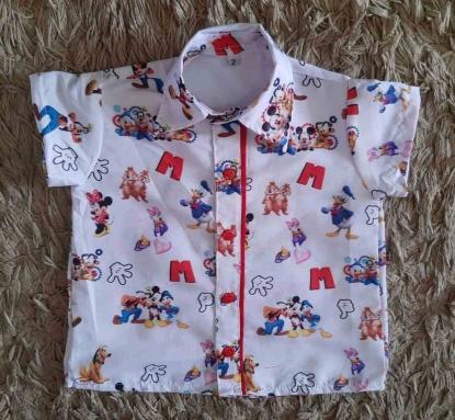 Camisa Turma do Mickey Infantil