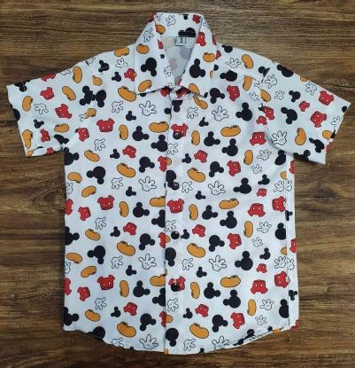 Camisa Mickey Mão Infantil