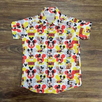 Camisa Mickey Mouse Presente Infantil