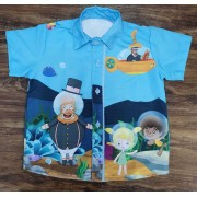 Camisa Bita Fundo do Mar Infantil